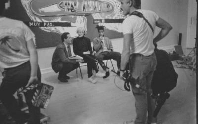 Interview Between Jean-Michel Basquiat, Geoff Dunlop & Sandy Nairne